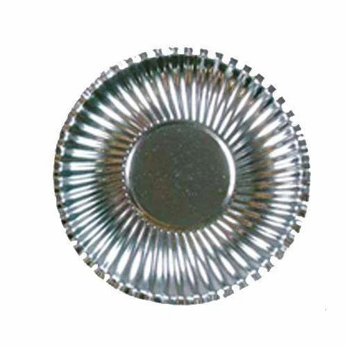 Silver Round Paper Plate  sc 1 st  IndiaMART & Silver Round Paper Plate at Rs 10 /packet(s)   Paper Plate   ID ...