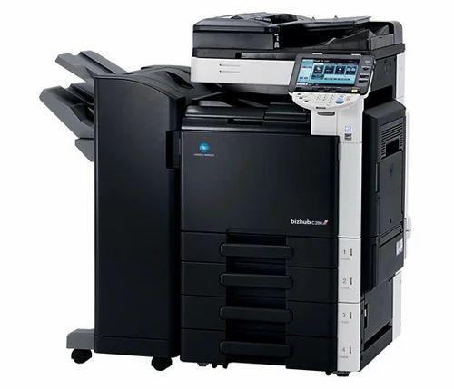 Colour Machine With 300GSM - Konica Minolta Photocopy