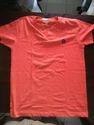 Red V Neck T Shirt