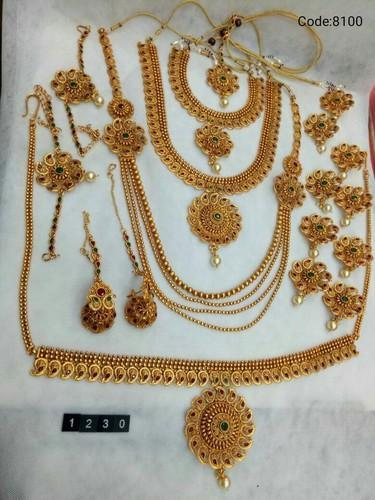 Traditional Bridal Jewelry Set at Rs 5000 set Bridal Jewelry Sets