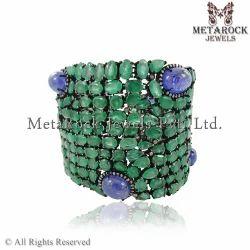 92.5 Sterling Silver Gold Designer Bracelets