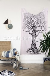 Tree Of Llife Wall Art Bohemian Wall Hanging Tapestry