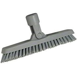 Swivel Corner Cleaning Brushes Gray