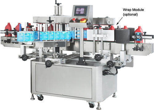 Automatic Sticker Labeling Machine, Automatic Adhesive Labelling ...