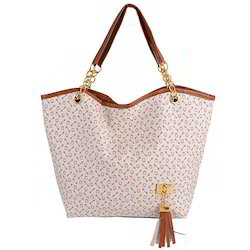 Cotton Printed Ladies Tote Bag