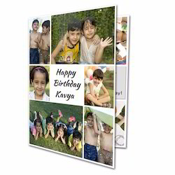 Personalized Photo Happy Birthday Greeting Cards