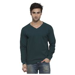 Mens V Neck Sweat Shirt