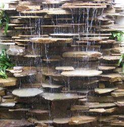 Stone Slate Water Fall