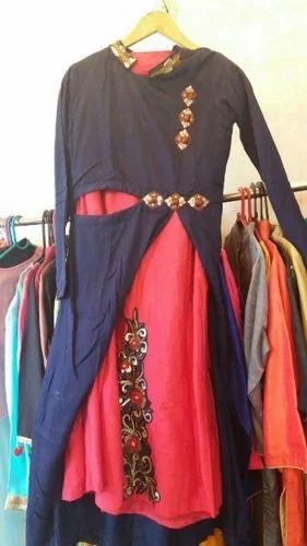 abffcbaa7440c Retailer of Indo Western Fusion Wear Dress & Anarkali Dress With ...