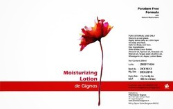 Paraben Free Moisturizing Lotion, For Personal