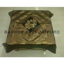 Designer Table Cover Brocade Dupion Marfi