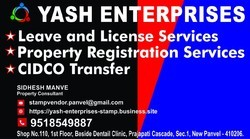 Property Registration Services, Size/ Area: Agreement For Sale