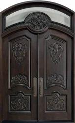 Interior Finished Carved Wooden Door