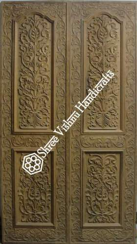 Teak Wood Double Door At Rs 11500 Square Feet Double