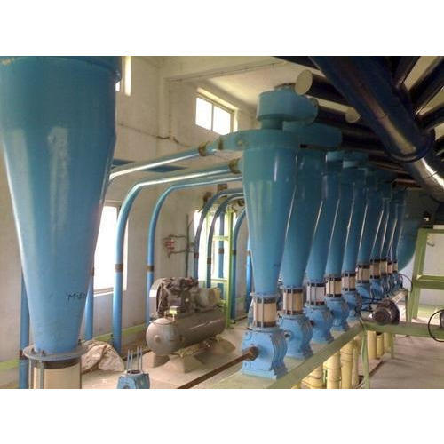 Mild Steel Industrial Flour Mill Plant, 5 HP, Three Phase
