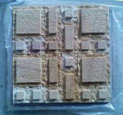 Teak Sandblast Mosaic Tile