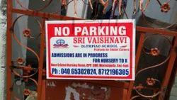 No Parking Boards Printing