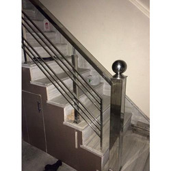 Attrayant Stylish Steel Stair Railing