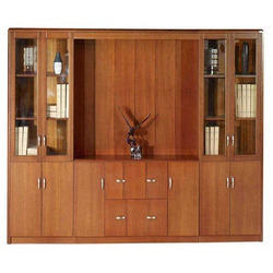 Wooden Bookcase Cabinet