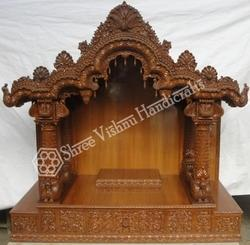 Teak Wood Temple - Manufacturers & Suppliers of Sagvan Ka Mandir