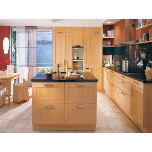 Island Shape Modular Kitchen | Maa