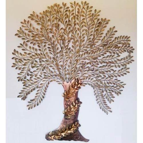 Metal Tree Wall Hanging Prepossessing Metal Tree Wall Hanging Dhaatu Ki Deewar Latkan  Malik Designs Decorating Design