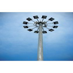 High Mast Lighting Pole 20 Mtr