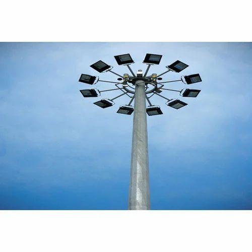 High Mast Lighting Pole 12/ 20/ 30 Mtrs