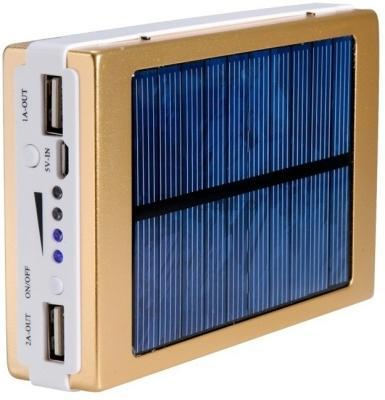 dch 20000 mah power bank solar golden with 6 months. Black Bedroom Furniture Sets. Home Design Ideas