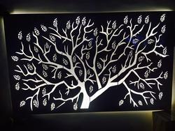 SS Backlit Tree Service