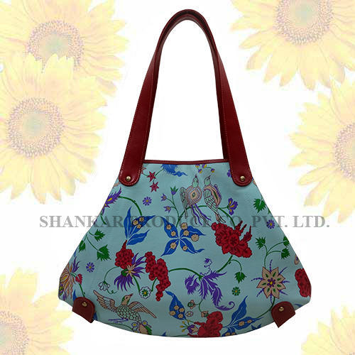 a244c9d95 Leather Hand Painted Bags - Handpainted Leather Tote Bag ...