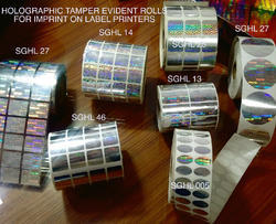 Holographic Labels For Bar Code Printers