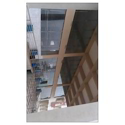 Commercial Spider Glass fixing