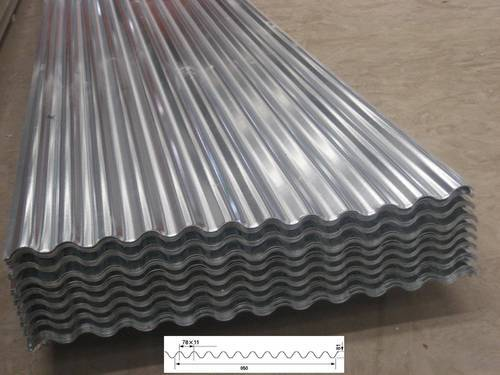 Cold Rolled Galvanized Sheet Application Construction