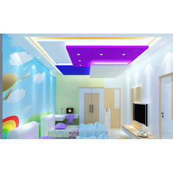 Kids Room Gypsum False Ceiling Services