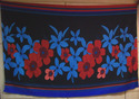 Beach Rayon Floral Print Pareos