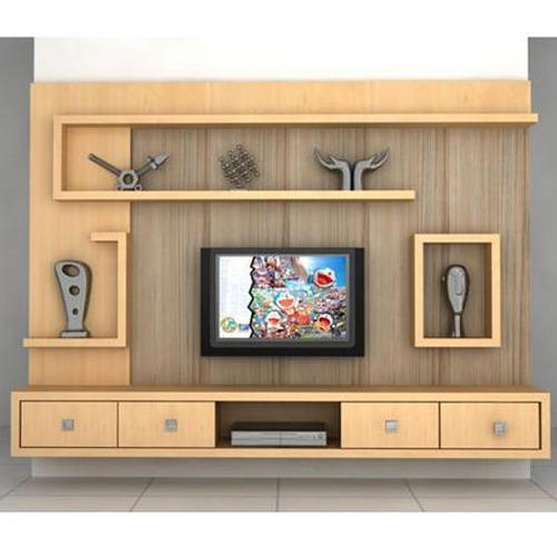 Living Room Cabinet Design In India: लकड़ी का टीवी