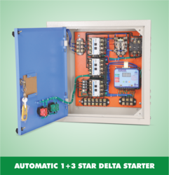Automatic Single And Three Phase Starter