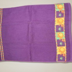 Towel With Jacquard Border