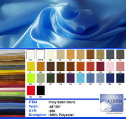 Poly Satin Fabrics