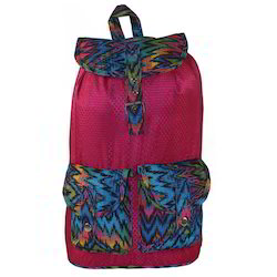Magenta - 273 Bleu Colorful Lightweight Girls Backpack
