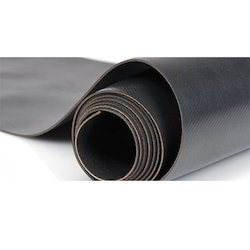 Black Plain Rubber Coated Fabric , Width : 1 mtr to 1.5 mtr