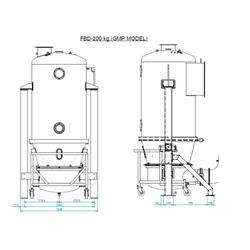 FBD-200 Assembly Industrial Dryers