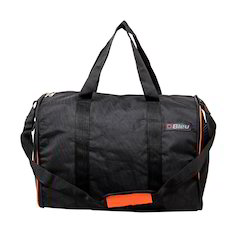 Foldable Black Duffel Bag