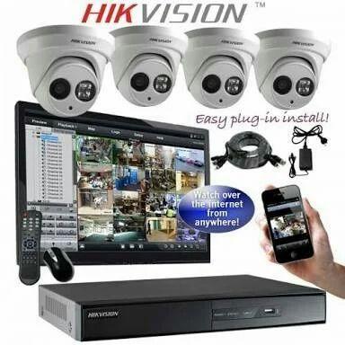 Cp Plus Amp Hikvision Cctv Camera Rs 13500 Set Third Eye