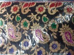 Banarasi Meena Jacquard Fabric Mango