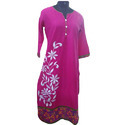 Girls Embroidery Kurti