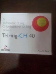 Telmisartan 40 mg Chlorthlidone 12.5 mg Tablet