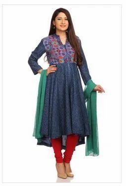75666de6f6 Cotton Anarkali Suit, Anarkali, Anarkali Dress, Anarkali Salwar ...
