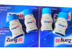 Zurig 80 mg Tablets